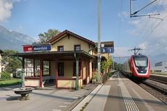 Maienfeld - Station SBB