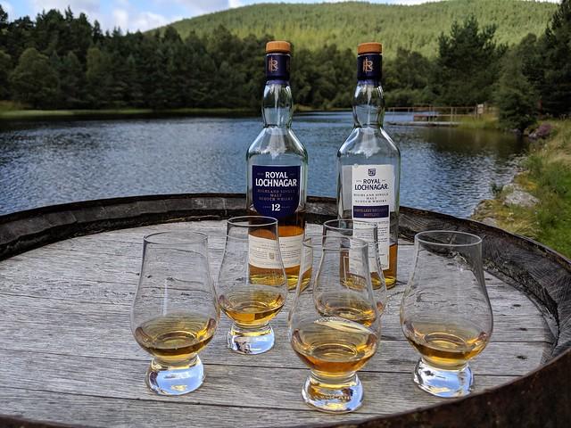Royal Lochnagar Distillery, Balmoral, August 2019