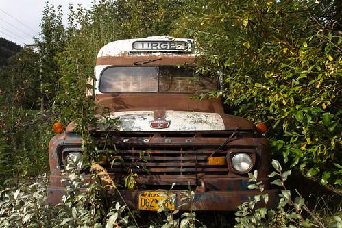 Ford bus, Chitina, Alaska