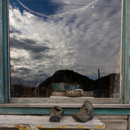 Chitina Emporium window, Alaska