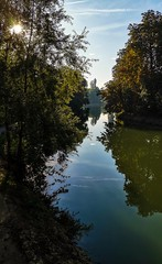 Early morning on the banks of Marne River. 5km from Paris - Photo of Crosne