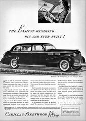 1940 Cadillac-Fleetwood Touring Sedan for Seven Passengers