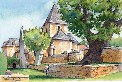 La Cassagne église