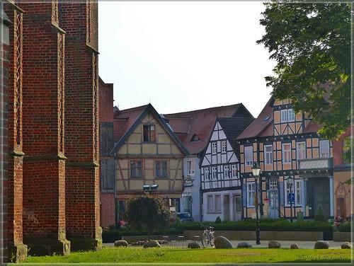 Kirchplatz in Tangermünde