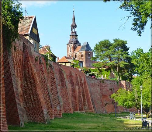 Stadtbefestigung Tangermünde und St. Stephanskirche