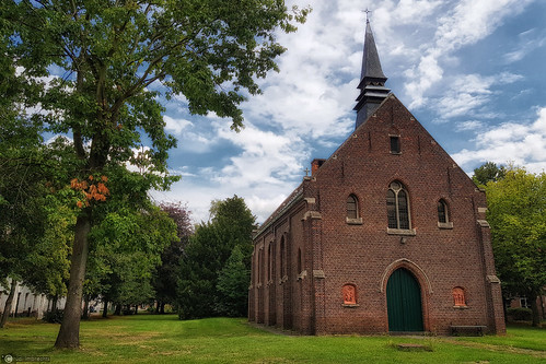 chapel at the St. Alexius beguinage in Dendermonde, Belgium