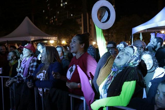 Trabalhadores aproveitam as atrações gratuitas da Jornada. - Créditos: Melito