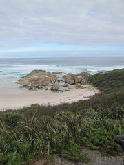 Rocks At Lights Beach - Lights Beach-Wind Farm Bicycle Trail, Denmark Western Australia