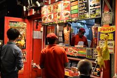 A doner (shawarma) shop in Akihabara