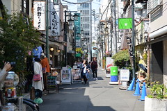 I decided to take the back street as Nakamise was a bit too crowded for my liking