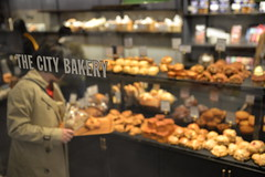 Uber fresh baked goods at The City Bakery in Ginza station