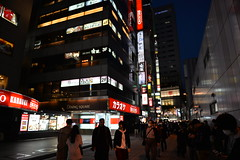 The side streets of Akihabara seemed to be more about games and anime etc.