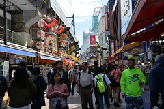 Ameya- Yokocho market was relatively uncrowded at that time of the day