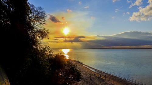 Ensaio contra o sol (série com 5 fotos)