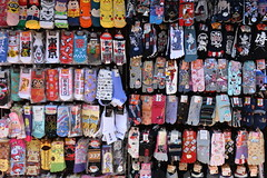 And this colourful stall on Nakamise dori sells only socks!