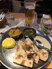 My traditional Indian thali meal