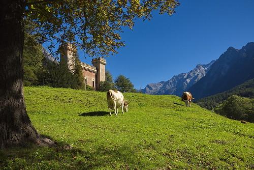 Castelmur Castle, Switzerland