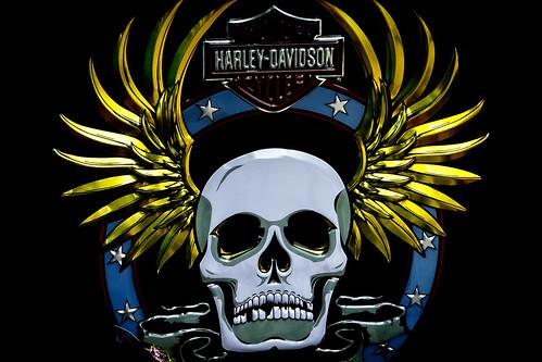 Harley-Davidson cycle sign