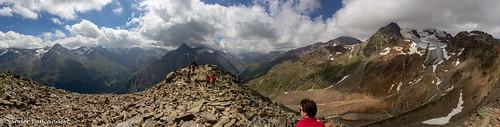 Wildes Mannle summit panorama