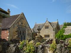 Main Courtyard at Hidcote Manor
