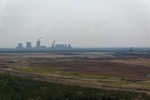 Braunkohletagebau Nochten und Kraftwerk Boxberg