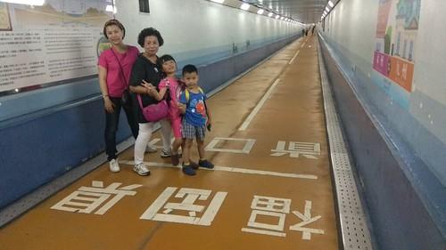20190817 關門隧道人行道