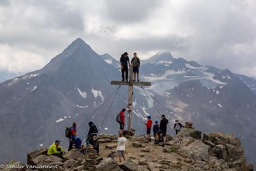 Wildes Mannle summit cross