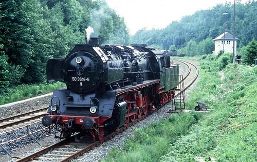 DR 50 3616-5 (Schichau 1940; Reko Raw Stendal 01.08.1960 ex 50 453) VSE Schwarzenberg