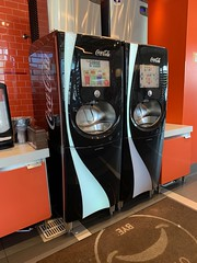 Burger King Coke Freestyle Machine