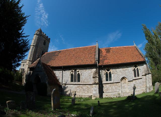 Little Wittenham Church.