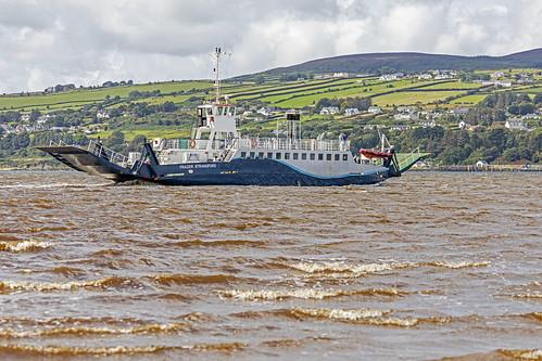 Lough Foyal ferry form Magilligan Point.