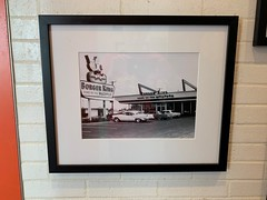 Photo of Vintage Burger King on Wall of South Beach Burger King