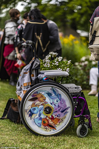 A real trainers' wheelchair