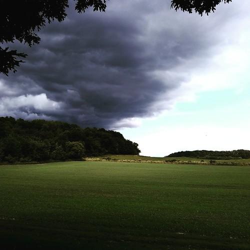 it looks like rain