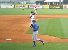 Ryne Sandberg managing Iowa Cubs vs. Nashville Sounds