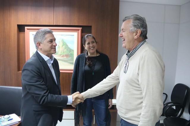 26/08/2019 Reunião na Prefeitura de Torres