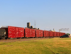 Brand New BNSF 60 Ft. Boxcars