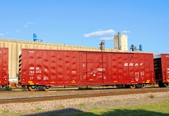 BNSF 763015 - new 60 Ft. Boxcar