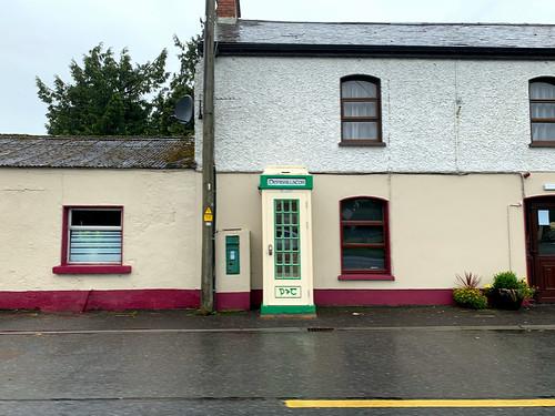 Irish telephone box county Offaly, August 2019