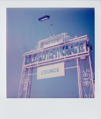 Beau Rivage Hotel Beach Sign