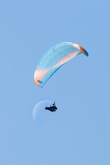 Paragliders over Edale, Peak District (Aug 2019)