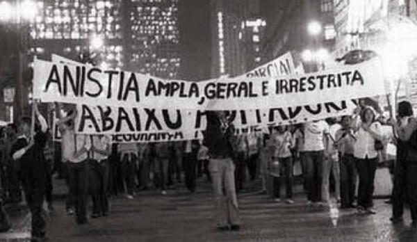 Movimentos foram às ruas pedindo Anistia ampla - Créditos: Arquivo Diap