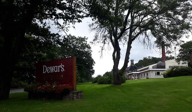 Dewar's Distillery - Aberfeldy