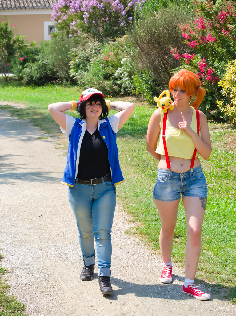 related image - Shooting Sacha & Ondine - Amphrax & Miisha - Pokemon - L'Isle sur Sorgue -2019-07-24- P1788242