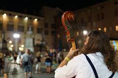 Ferrara buskers festival: double bass