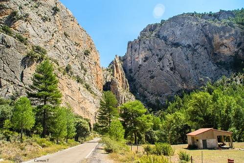 Paisaje cerca de Pitarque (Teruel)
