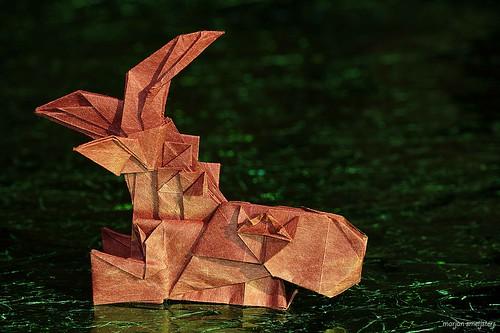 Origami Grampus (Fumiaki Kawahata)