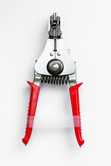 Top view tongs wire stripper