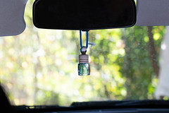 Hanging flavor in the car