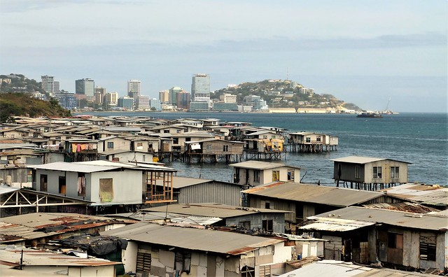 Stilt Houses Port Moresby